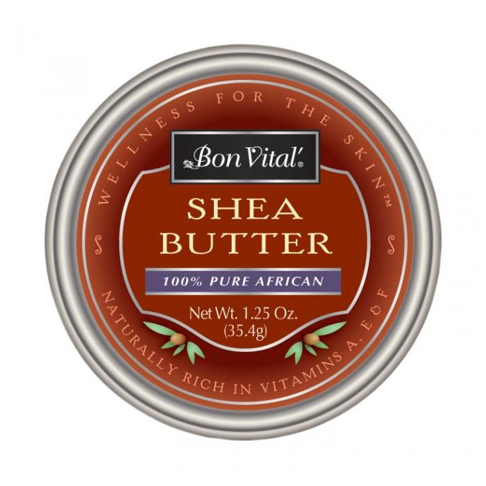 Bon Vital Shea Butter - 100% AFRICAN SHEA BUTTER moisturizer for the hands, face and body!