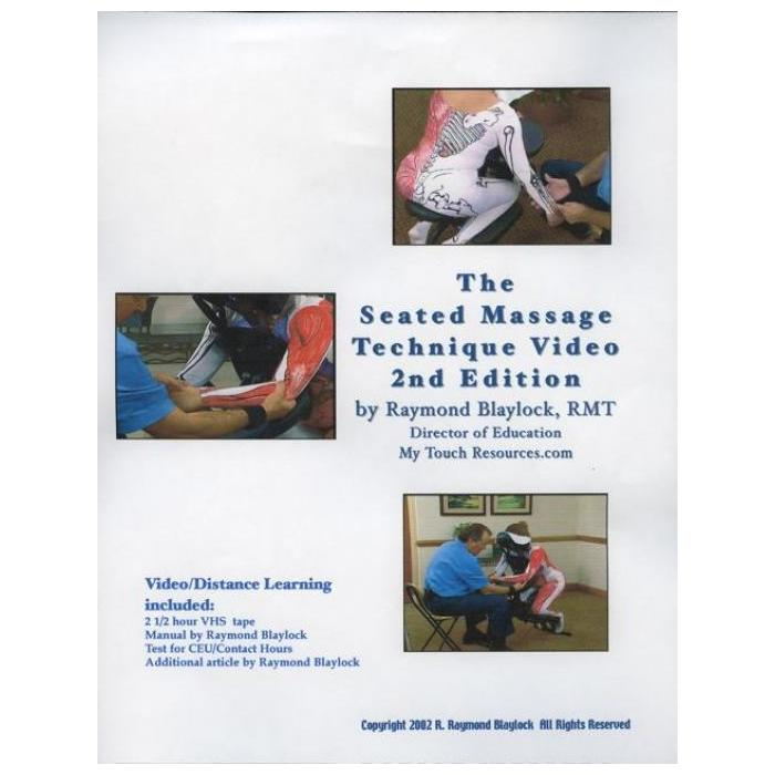 TRI Seated Massage Technique 2nd Edition Video and Optional CEU - 2nd Edition of the #1 selling Seated Massage video in the world!
