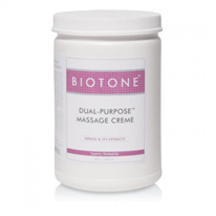Biotone Dual Purpose Cream Half Gallon (68oz) - Nationally Known as the Favorite Massage Creme!