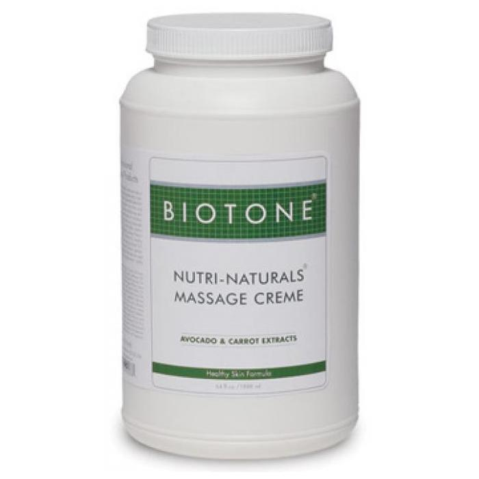 Biotone Nutri-Naturals Massage Creme 1/2 Gallon - Perfect for full body massaage!