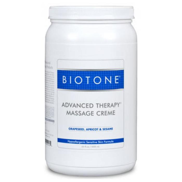 Biotone Advanced Therapy Massage Creme 1/2 Gallon - Perfect for longer massage sessions!